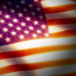 Stock Photo: Flag. usa.memoriam