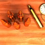 Cartridge,watch — Stock Photo