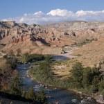 Wyoming Badlands — Stock Photo