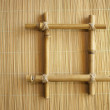 Bamboo frame — Stock Photo