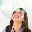 Bubbles world — Stock Photo