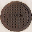 Manhole Cover — Stockfoto #2640865