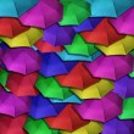 Colorful Umbrellas — Stock Photo #2641625