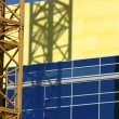 Construction Site Crane — Stockfoto