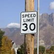 Royalty-Free Stock Photo: Speed Limit 30