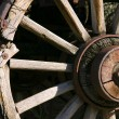 Old Antique Wagon Wheel — Stock Photo #2600834