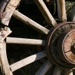 Stock Photo: Old Antique Wagon Wheel