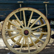 Old Antique Wagon Wheel — Photo