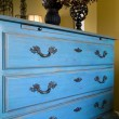 Stock Photo: Close up on drawers of dresser