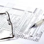 Preparing Taxes — Stock Photo #2602522