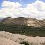 Panoramic View of Snow Canyon - Utah — Stock Photo