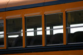 School Bus Windows — Stock Photo