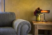 Trendy Modern Living Room — Stockfoto
