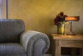 Sala de estar na moda moderna — Fotografia Stock