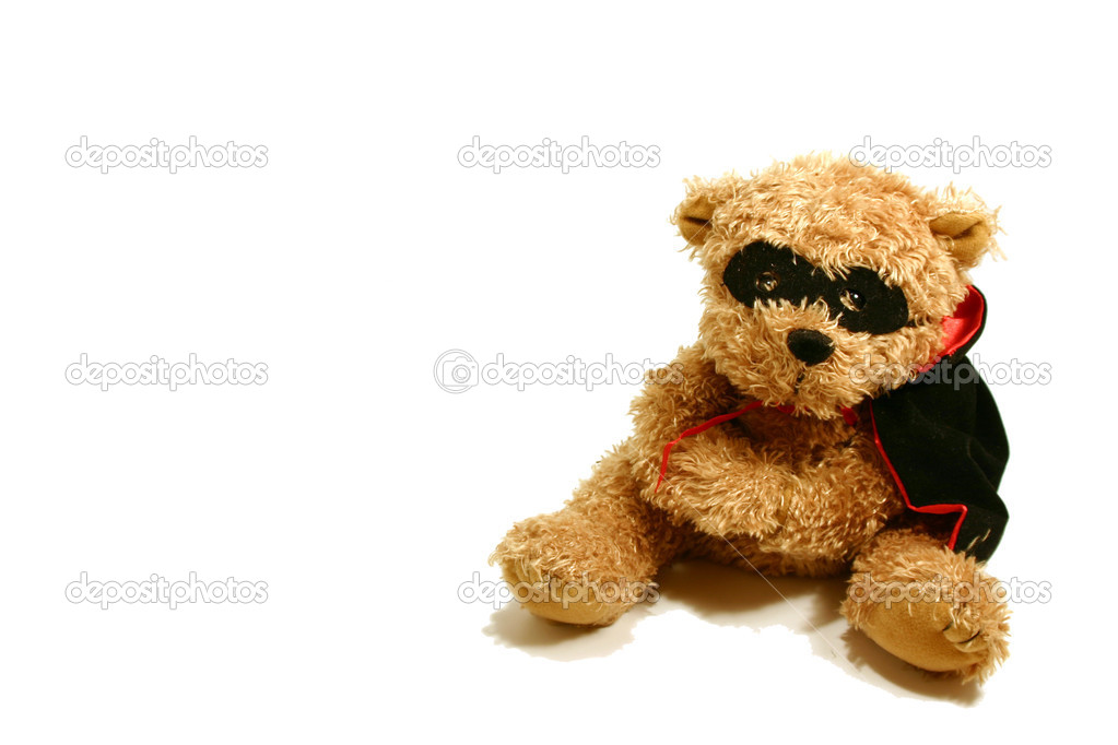 Halloween Decoration - Teddy Bear — Stock Photo #2600618