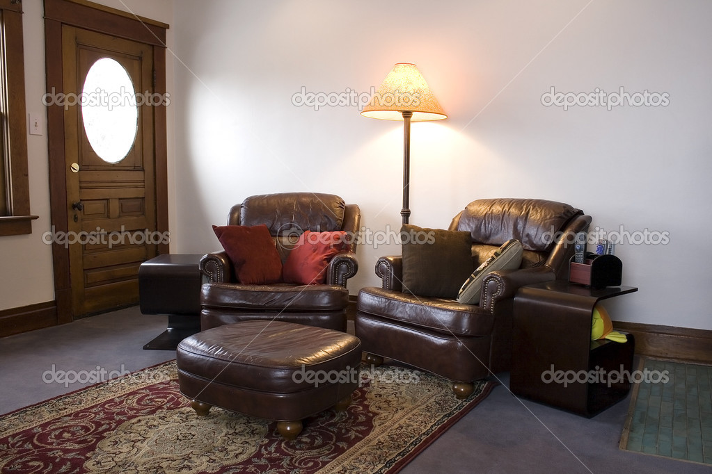 Close up on a Classic Family Room — Stock Photo #2601805