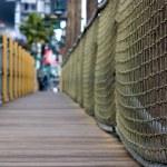 Sidewalk in the strip in Las Vegas — Stock Photo