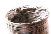 Isolated Dryer Vent Hose — Stock Photo