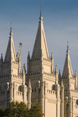 Mormon Temple in Salt Lake City — Stock Photo