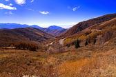 страна с гор — Стоковое фото