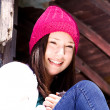 Royalty-Free Stock Photo: Beautiful Teenager with a Hat