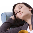 Cute Teen Girl Sleeping — Stock Photo #2692696