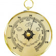 Old barometer — Stock Photo #2675302