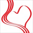 Abstract background heart. — 图库矢量图片 #2599635