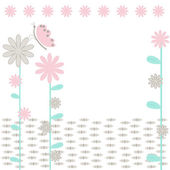 The Background flowerses. — Stock Vector