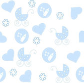 The Background seamless baby. — Stock Vector