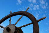 Ship wheel — Stock Photo
