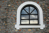 Window in wall — Stock Photo