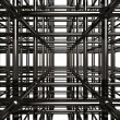 Abstract Metal Construction Stock 3D Illustratio — Stock Photo #2597149