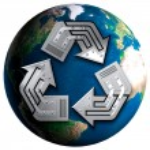 Conceptual Recycling Symbol — Stock Photo #2597448