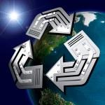 Conceptual Recycling Symbol — Stock Photo #2597449