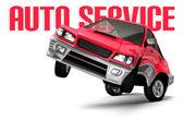 Auto Service Concept — Stock Photo