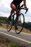 Bicyclist — Stockfoto