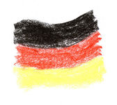 German flag — Stock Photo