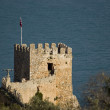 The castle of Alanya — Stock Photo
