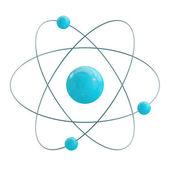 Atom — 图库照片