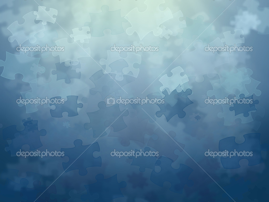 Parts of puzzle under the water   Stock Photo #2599876