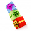 Gift boxes construction — Stock Photo #2601460