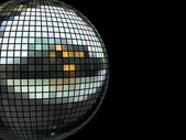Disco mirrorball — Fotografia Stock