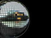 Disco zrcadlová koule — Stock fotografie