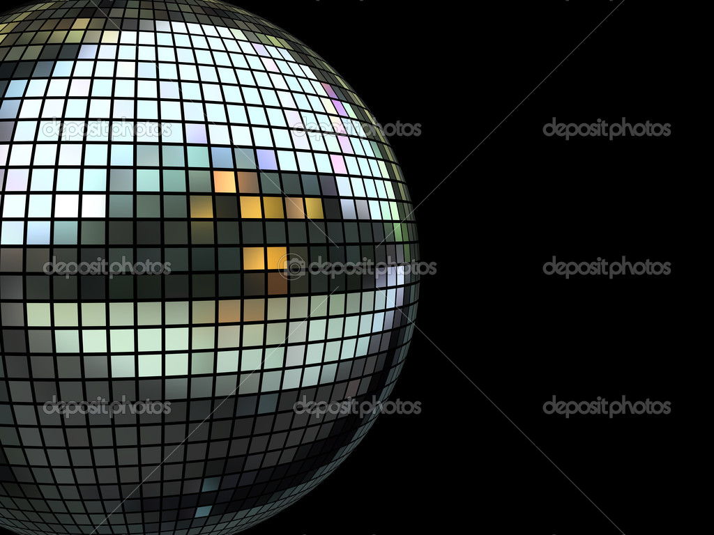 Nightclub disco equipment isolated on black in XXL size — Stock Photo #2600856