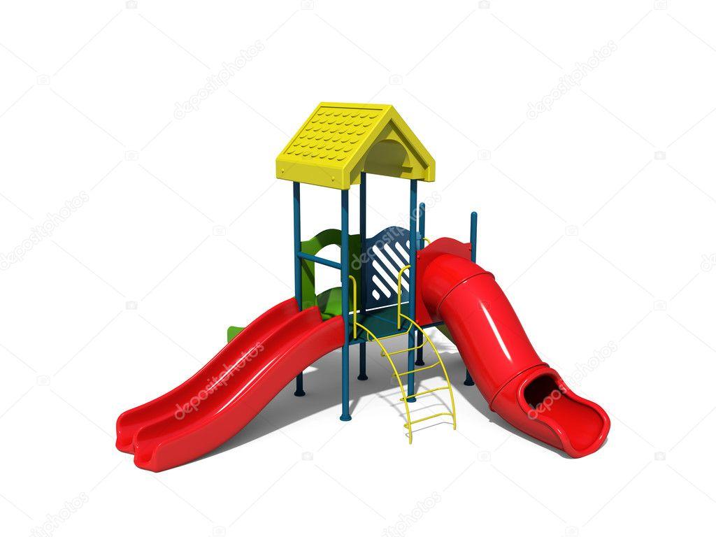 活跃儿童游乐场