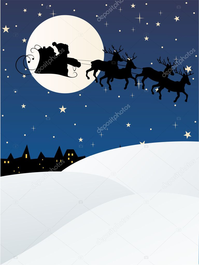 Vector illustration of a christmas background — Stock Vector #2556878
