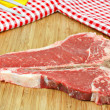 Royalty-Free Stock Photo: Fresh raw Porterhouse steak
