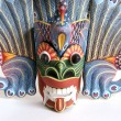 Stock Photo: Traditional Indonesi(Balinese) mask