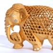 Indian souvenir figurine of an elephant - Stock Photo